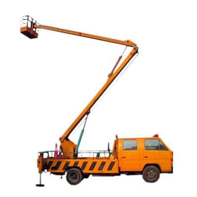 车载折臂式液压升降机图片